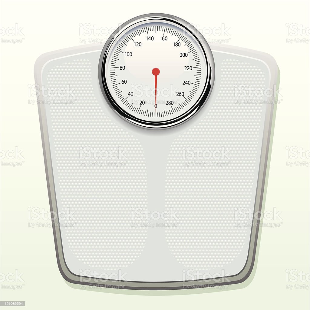 Weighing Scales vector art illustration