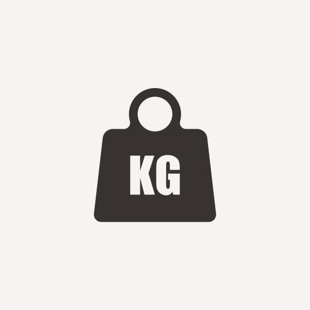 Weight Icon. Weight Icon. isolated on background. Vector illustration. Eps 10. weight stock illustrations