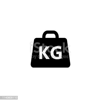 Weight Icon vector illustration