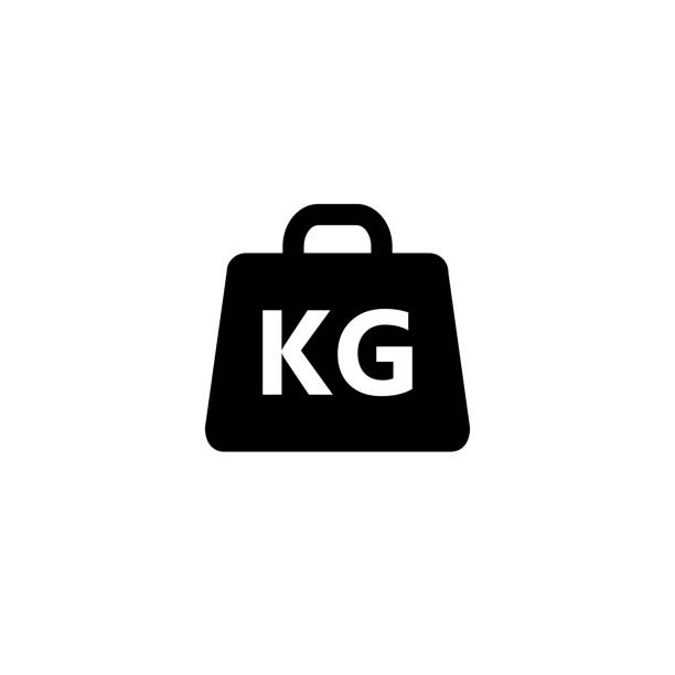 Weight Icon vector illustration Weight Icon vector illustration weight stock illustrations