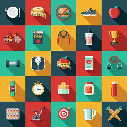 food lifestyle stock illustrations