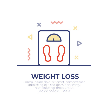 Weight Loss Outline Icon