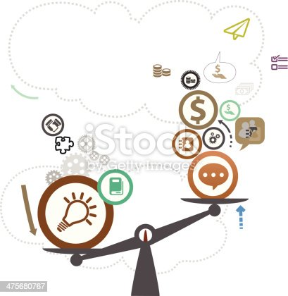 Vector File of Knowledge Concept