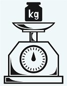 Weight scale and weight kilogram