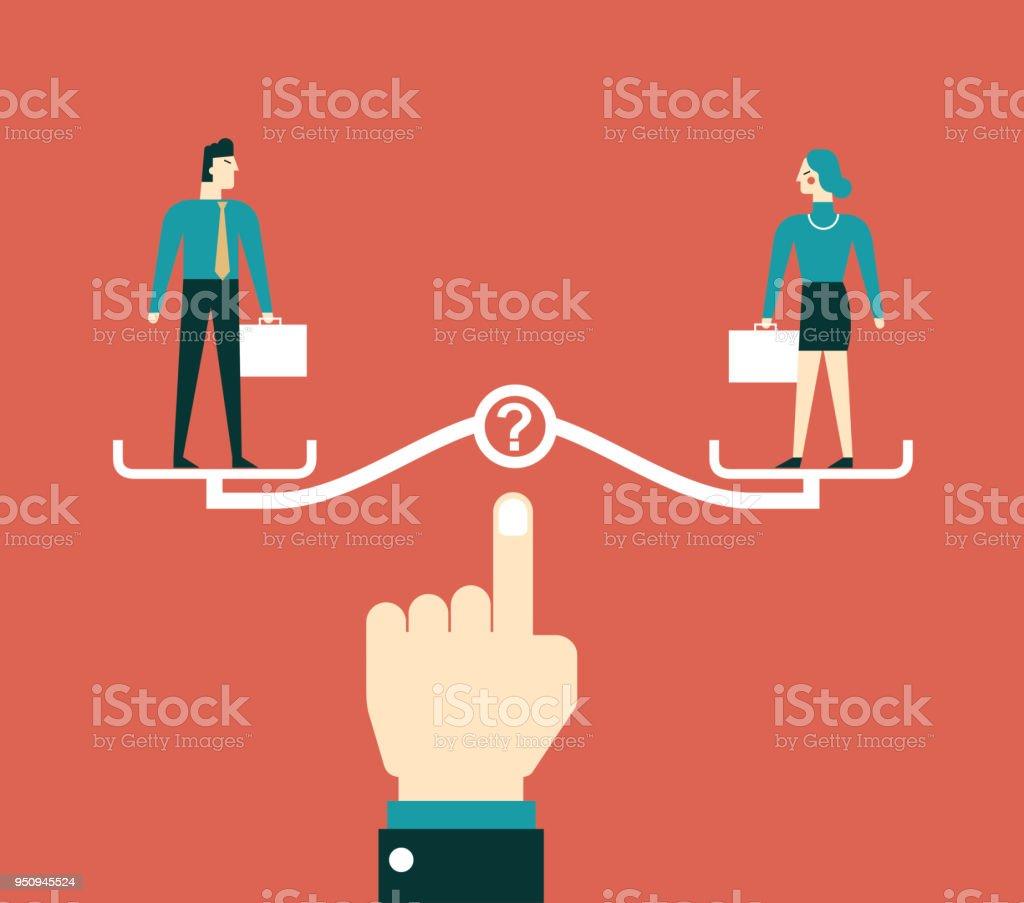 waage partnerschaft
