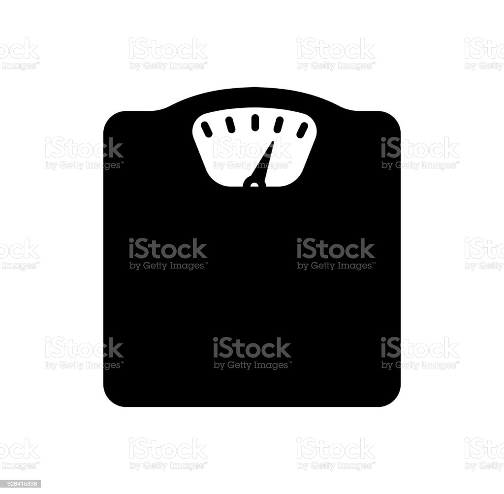weight scale / diet / metabolic syndrome icon
