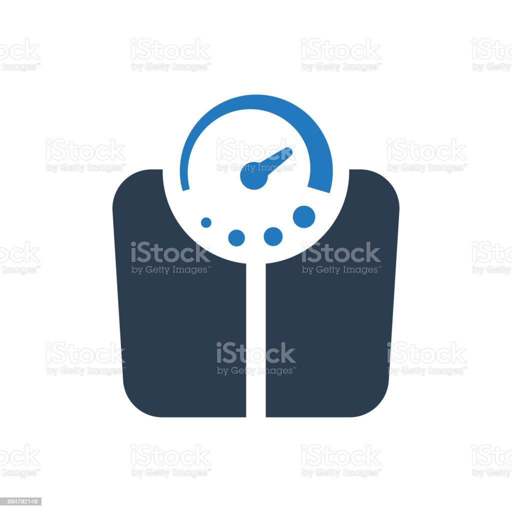 저울 아이콘크기 - 로열티 프리 0명 벡터 아트