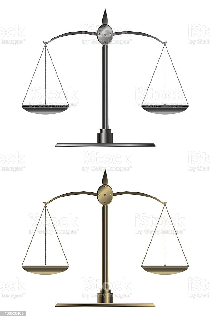 Weight scale royalty-free stock vector art
