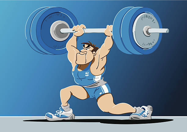Royalty Free Clean And Jerk Clip Art Vector Images Amp Illustrations Istock