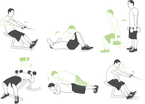 Weightlifting and exercises