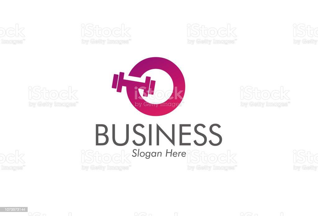 重量挙げアイコン ビジネスおよび企業 ベクターアートイラスト