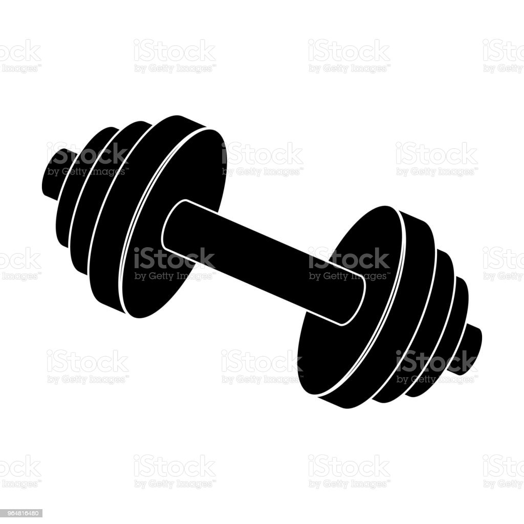 Weights for training. Metal training tools.Gym And Workout single icon in black style vector symbol stock web illustration. royalty-free weights for training metal training toolsgym and workout single icon in black style vector symbol stock web illustration stock vector art & more images of activity