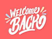 istock Welcome back banner. 1248774227
