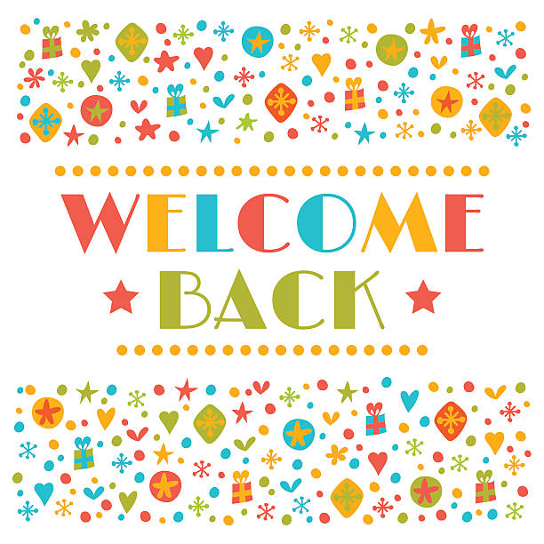 Royalty Free Welcome Back Party Clip Art, Vector Images ...