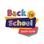Vector illustration of the welcome back to school banner.