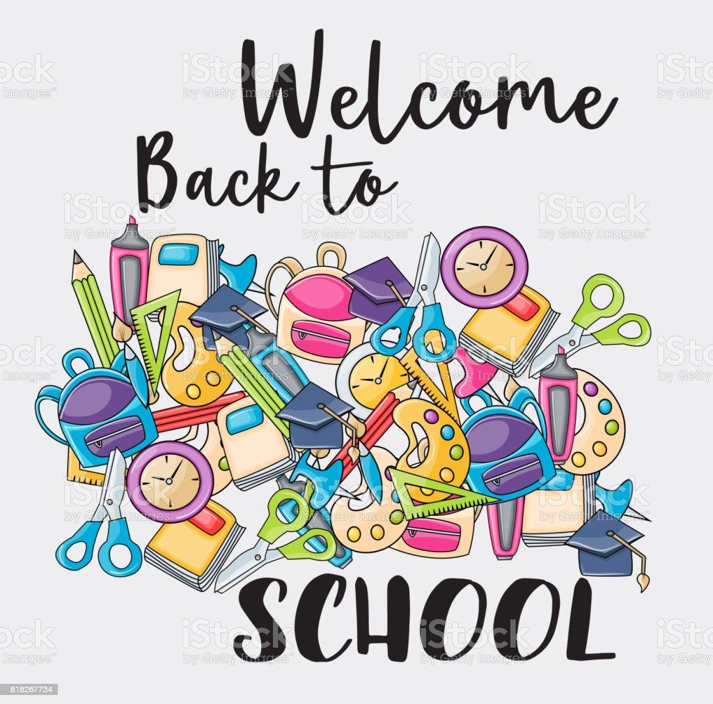 Welcome school clipart