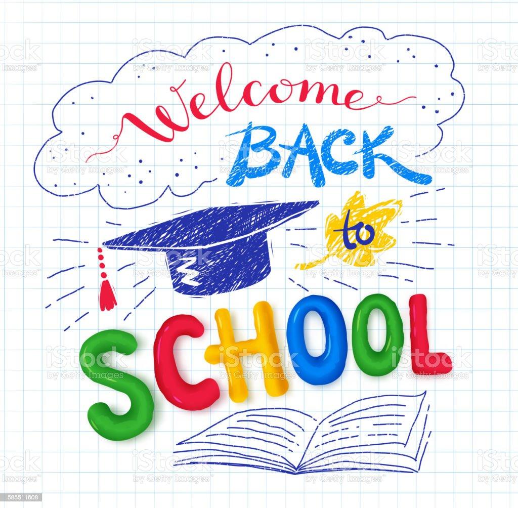 welcome back to school poster stock vector art  u0026 more