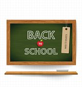 Welcome back to school with blackboard