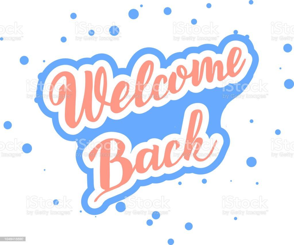 Herzlich Willkommen Zurück