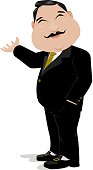 Welcome businessman