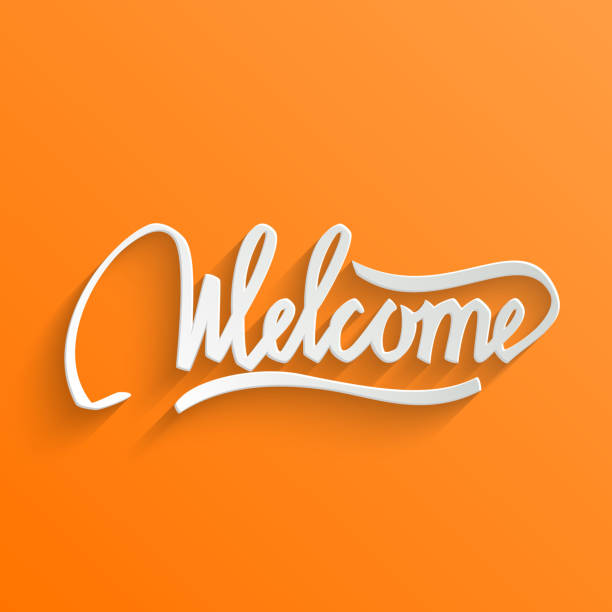 Royalty Free Welcome Sign Clip Art, Vector Images ...