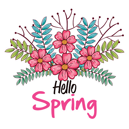 Welcome spring design