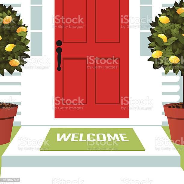 Welcome spring mat at front door with lemon trees vector id464807626?b=1&k=6&m=464807626&s=612x612&h=ajd0z2ksubw8ro2 h aqxn5yv3zxdzsgwfpr ptu5xw=