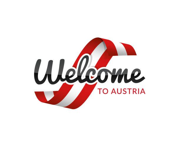 bildbanksillustrationer, clip art samt tecknat material och ikoner med välkommen till österrike - salzburg