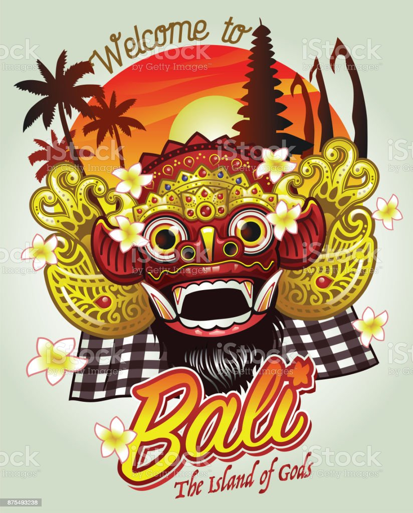 Welcome to bali design stock vector art more images of archipelago welcome to bali design royalty free welcome to bali design stock vector art amp thecheapjerseys Gallery