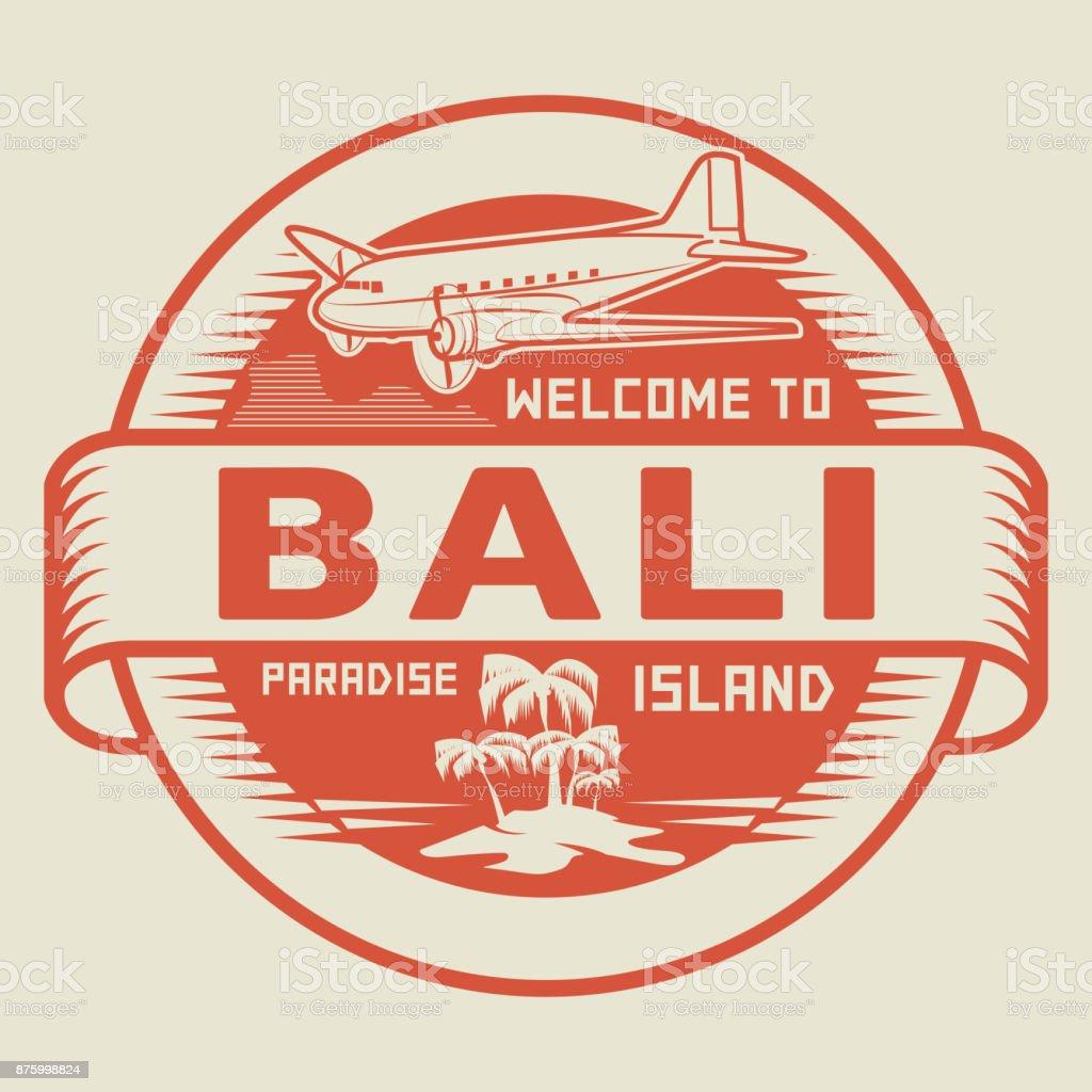 Welcome to bali paradise island stock vector art more images of welcome to bali paradise island royalty free welcome to bali paradise island stock vector altavistaventures Choice Image