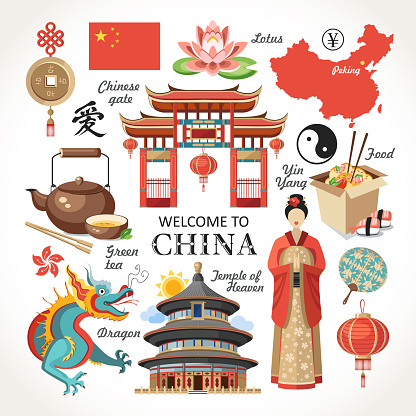 welcome to China capital set red collection