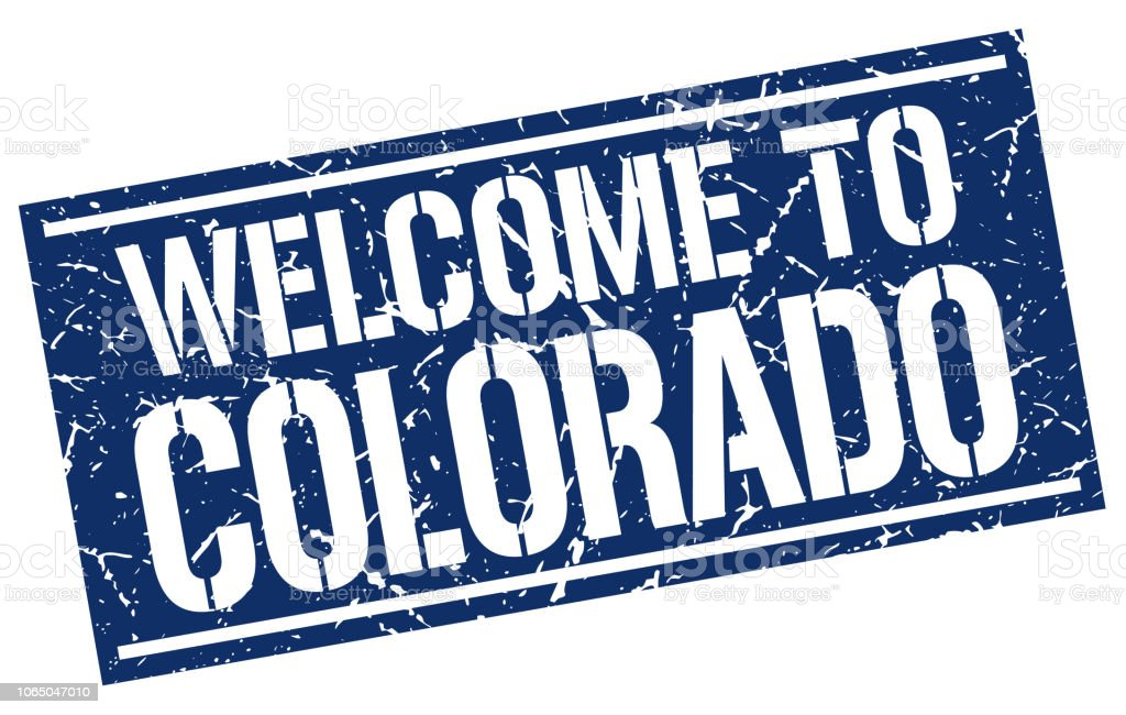 Welcome To Colorado Stamp Royalty Free Stock Vector Art Amp
