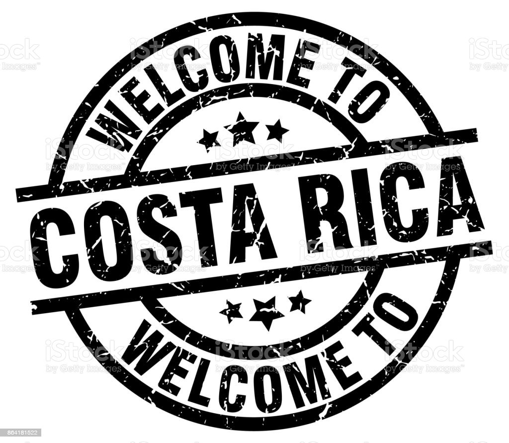 welcome to Costa Rica black stamp royalty-free welcome to costa rica black stamp stock vector art & more images of award ribbon