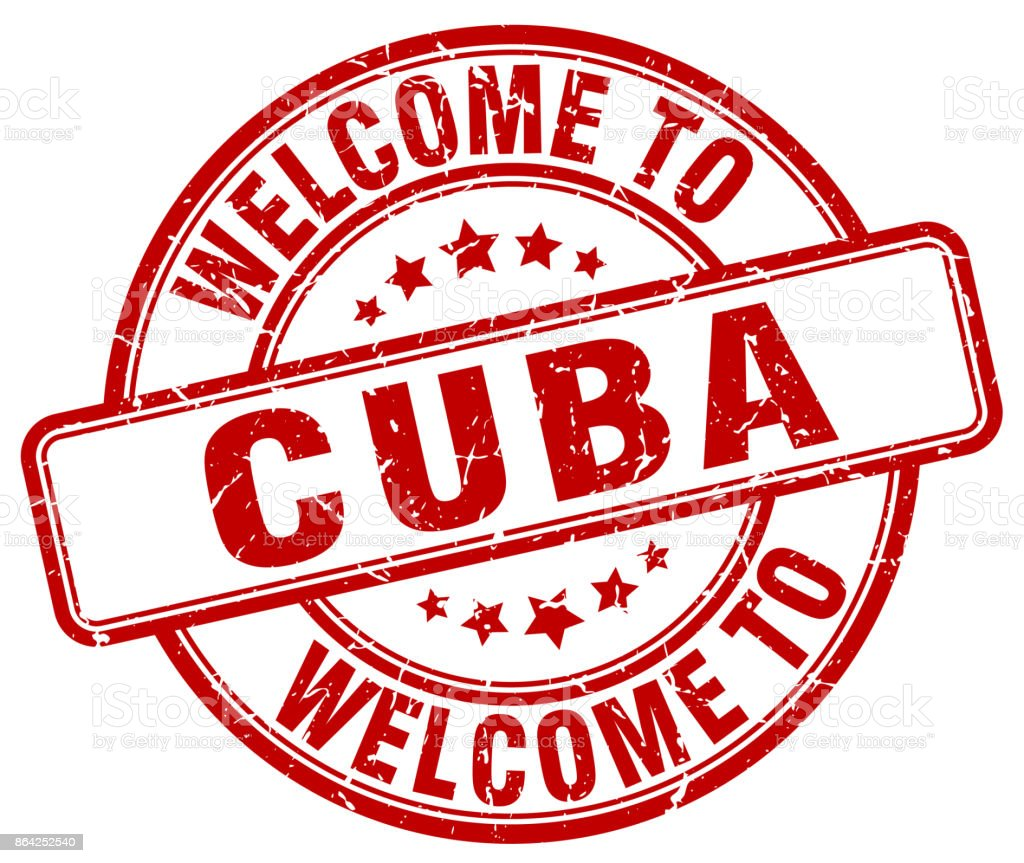 welcome to Cuba red round vintage stamp royalty-free welcome to cuba red round vintage stamp stock vector art & more images of badge
