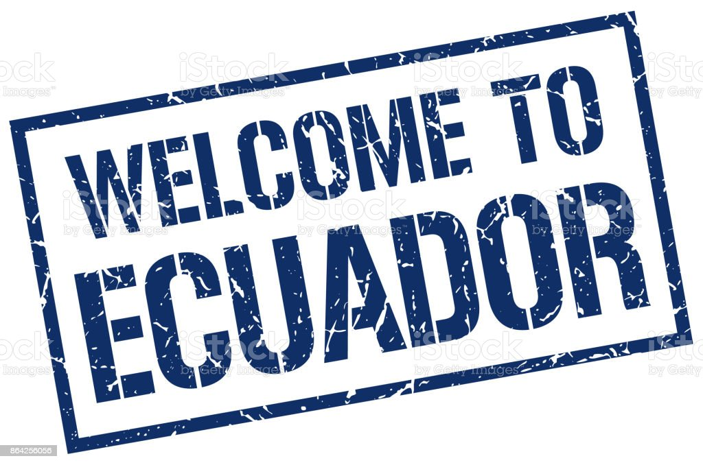 welcome to Ecuador stamp royalty-free welcome to ecuador stamp stock vector art & more images of badge