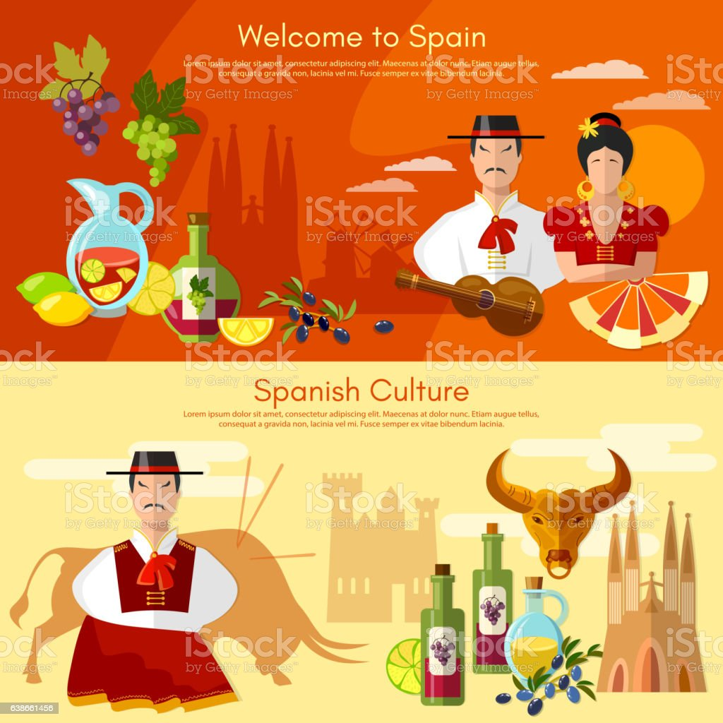 spanish traditions Spain is one of the largest countries in all of europe, occupying most of the  iberian peninsula vacation-goers flock to spain for the sunny.