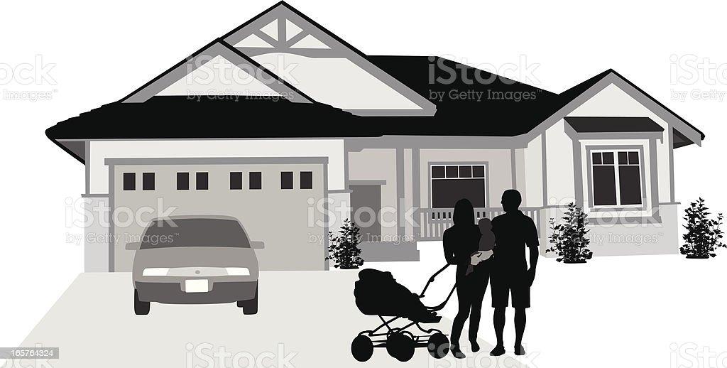 Welcome Vector Silhouette vector art illustration