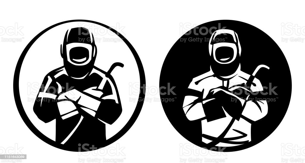 Welder Logo Stock Illustration Download Image Now Istock