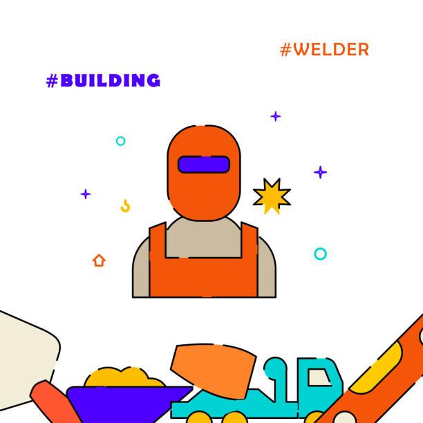 22 Clip Art Of Welding Logo Illustrations Royalty Free Vector Graphics Clip Art Istock