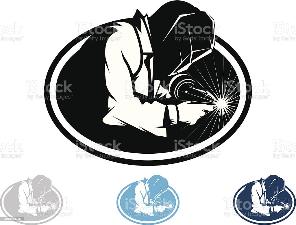 Welder Stock Illustration - Download Image Now - iStock