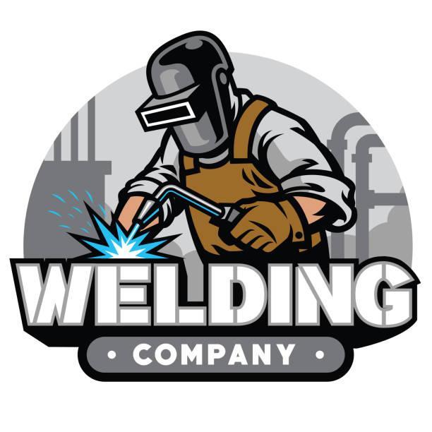 Top 60 Silhouette Of A Welder Logos Clip Art, Vector ...