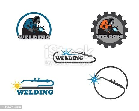 welding icon vetor illustration design template