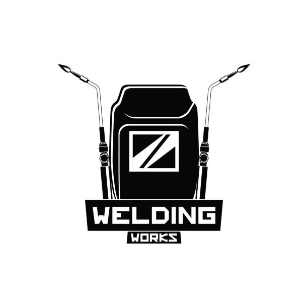 Welding Torch And Hood Clipart