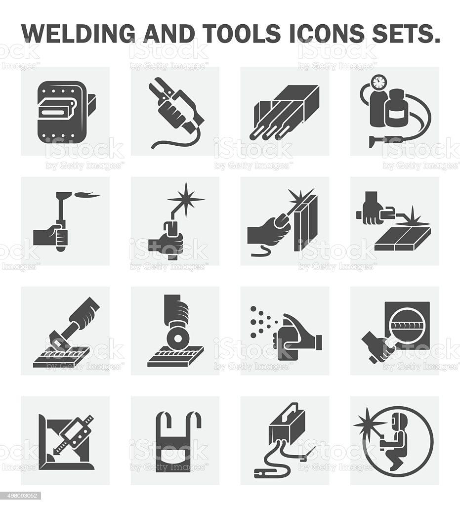 Welding vector art illustration