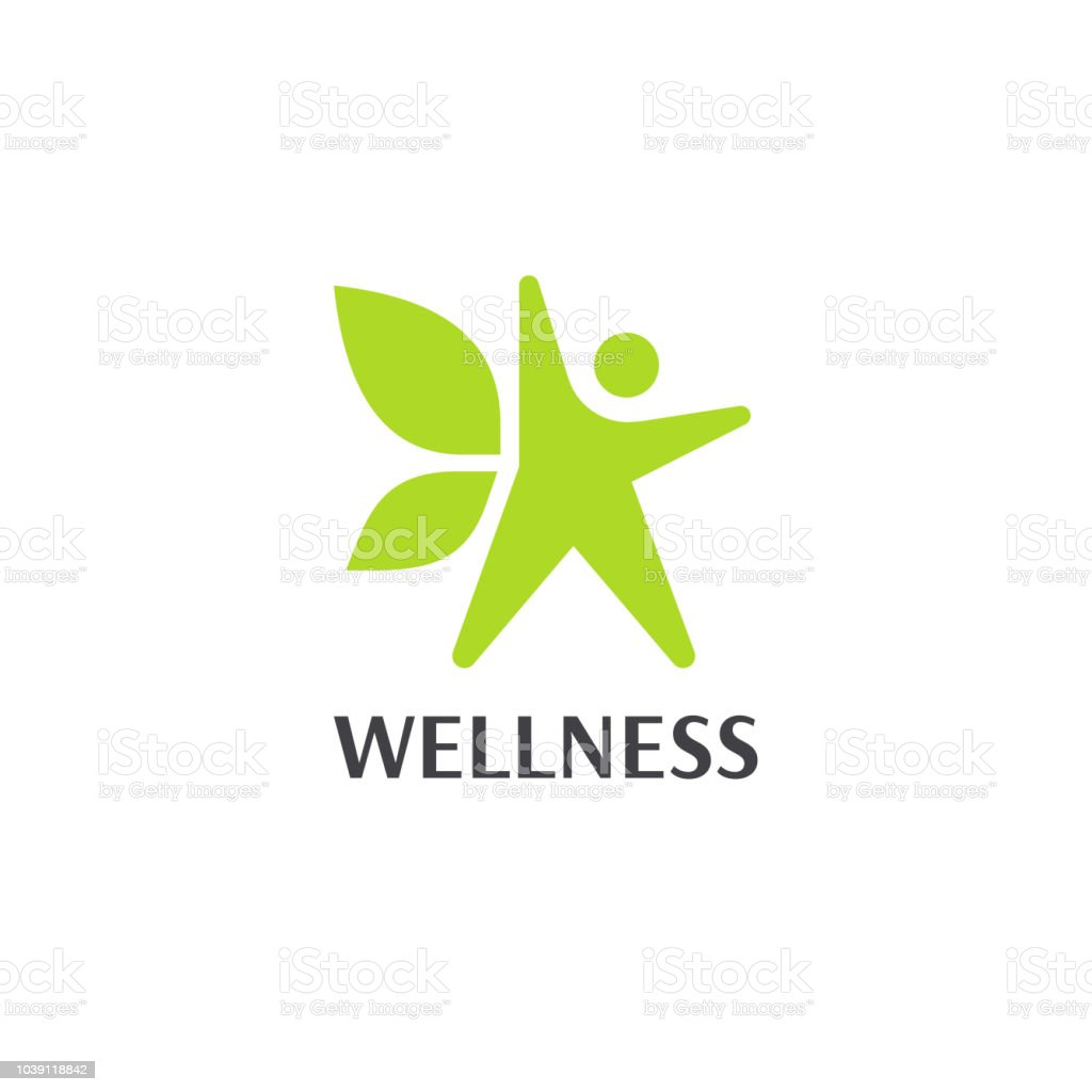 Wellness an fitness vector design template. royalty-free wellness an fitness vector design template stock illustration - download image now