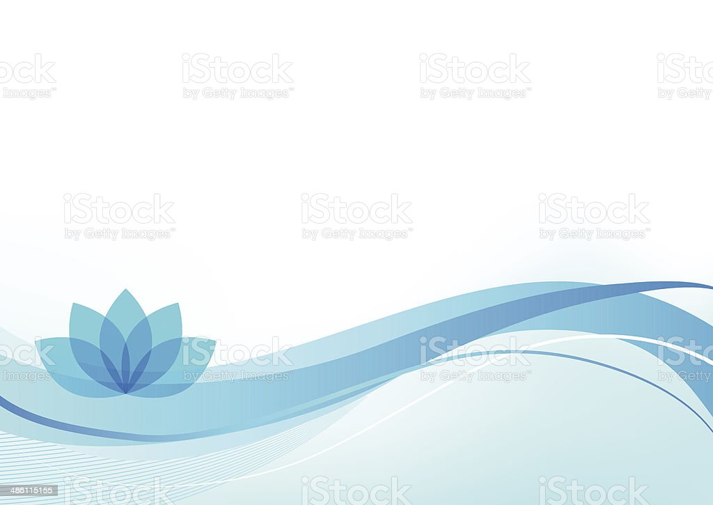 Wellness Background vector art illustration