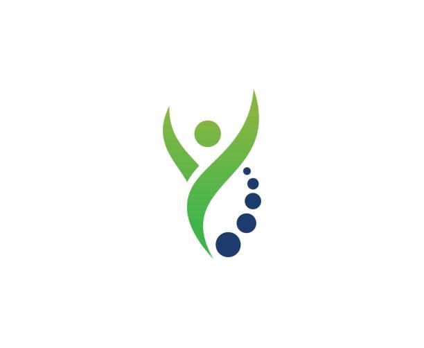 illustrazioni stock, clip art, cartoni animati e icone di tendenza di wellness icon - fisioterapia