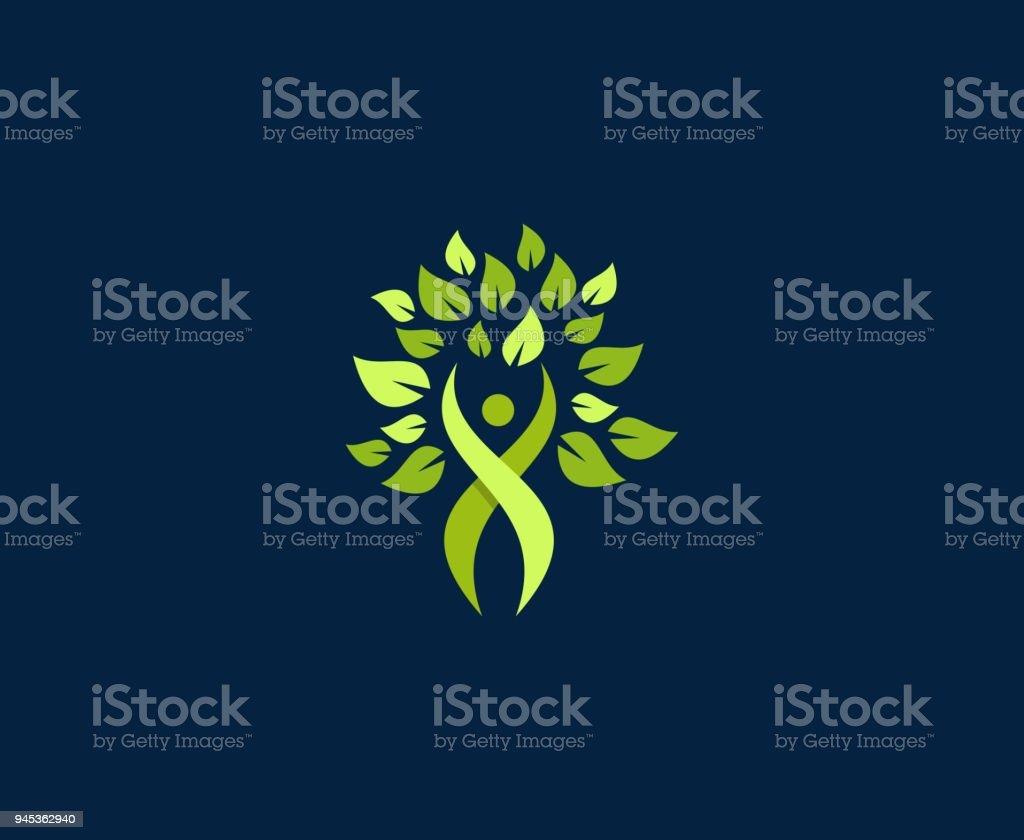 Icône de bien-être - Illustration vectorielle