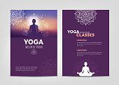 istock Wellness Studio Brochure Template 1148636162