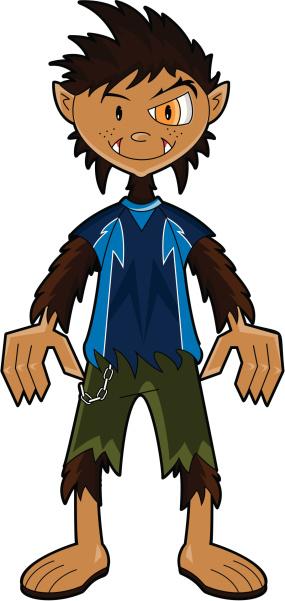 Werewolf Boy no Background
